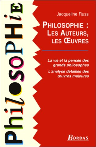 9782040282103: PHILOSOPHIE AUTEURS OEUVRES (Ancienne Edition)