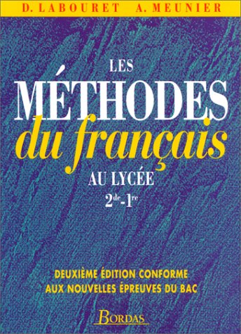 9782040282356 Les Methodes Du Francais Au Lycee Seconde Et