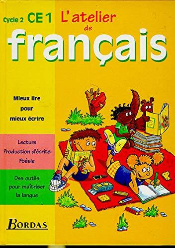 9782040283230: Atelier de français, CE1 : cycle 2. Cahier de l'élève