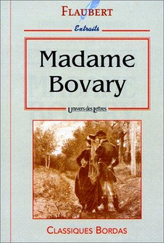 Madame Bovary.: Flaubert Gustave