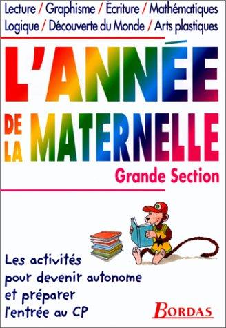 9782040285012: L'AD LA MATERNELLE GRANDE SECTION (ancienne édition)