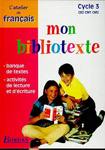 [DIAGRAM_34OR]  9782040285203: Mon bibliotexte, cycle 3 : CE2, CM1, CM2. Atelier de  français (French Edition) - AbeBooks - Roure, Dominique: 2040285202 | Ce2 Cm1 |  | AbeBooks