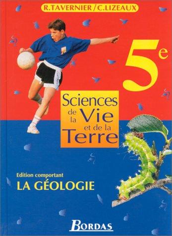 9782040286132: Sciences et vie de la terre : 5e. Manuel de l'élève : géologie