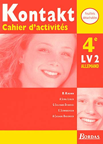 9782040286859: Kontakt : 4e. Cahiers d'activités