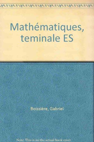 9782040286958: JOKE.013 MATHS TERMINALES ES (Ancienne Edition)
