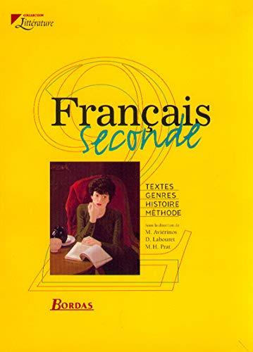9782047292457 Francais 2nde Livre De L Eleve 2000