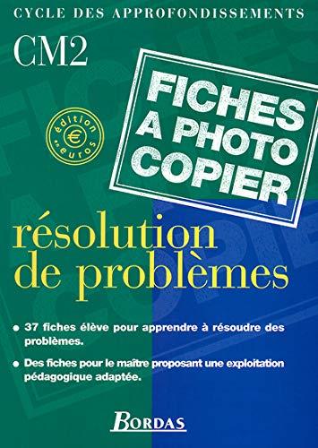 9782047295694: Résolution de problèmes CM2 : Fiches à photocopier