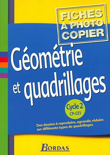 9782047297315: Géométrie et quadrillage Cycle 2 Fiches à photocopier