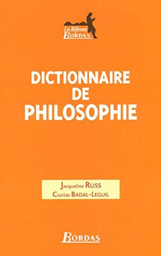 9782047299487: DICT.DE PHILOSOPHIE