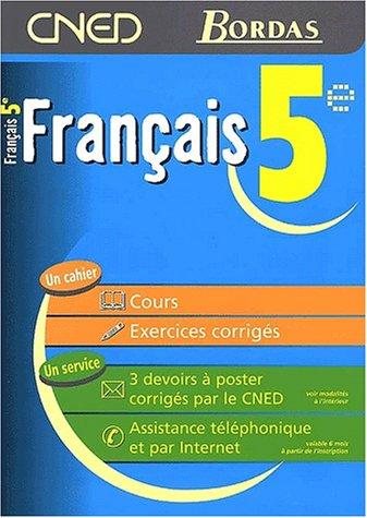Français 5e. Cours. Exercices corrigés: Collot, Marie-Josèphe ; Linskens, ...