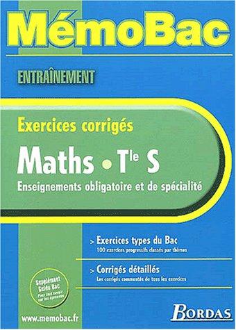 9782047302927: MEMO ENTRAINEMENT MATHS TERM S (Ancienne Edition)
