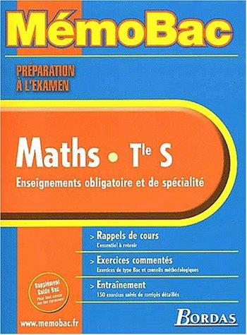 9782047303092: MEMO PREPA.EXAM MATHS TERM.S (SPE+OBLIG) (Ancienne Edition)