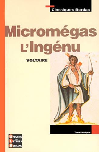 9782047303801: Classiques Bordas : Micromégas ; L'Ingénu