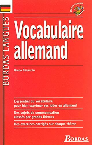 Vocabulaire allemand: Cazauran, B.