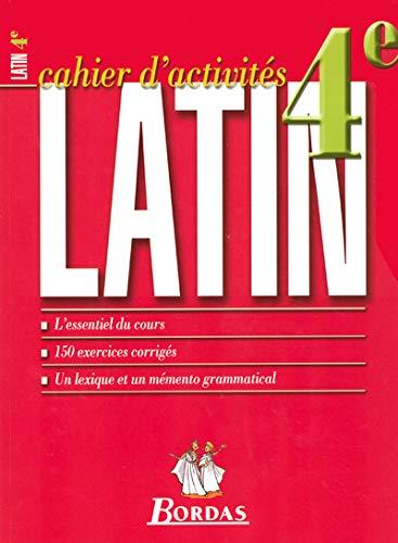 9782047306260: LATIN 4EME CAHIER D'ACTIVITES