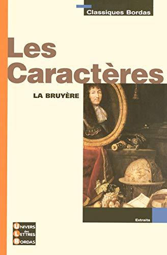 9782047306673: Les Caractères