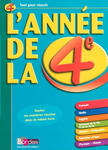 9782047308653: L'AD LA 4E - TOUTES LES MATIERES REUNIES DANS LE MEME LIVRE (ancienne édition)