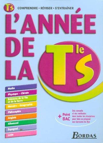 9782047309063: L'AD LA TERMINALE S 2006 COMPRENDRE REVISER S'ENTRAINER + POINT BAC (ancienne édition)