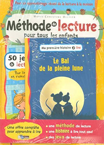 9782047309933: Méthode de lecture pour tous les enfants : Avec roman Le Bal de la pleine lune + 50 jeux de lecture