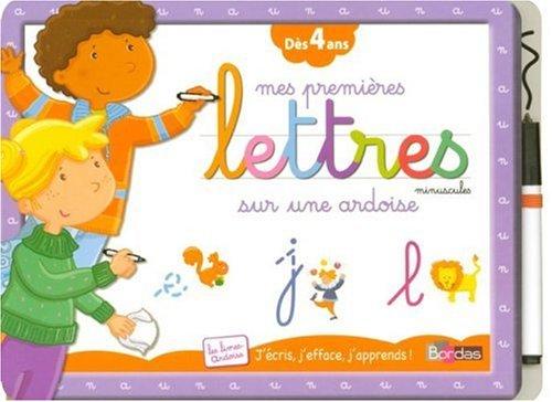 9782047310397: Mes premières Lettres minuscules sur une ardoise : Dès 4 ans