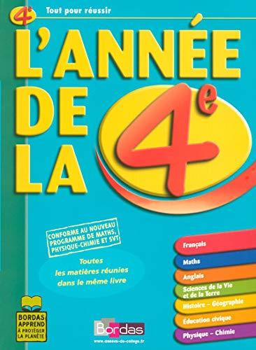 9782047310632: L'AD LA 4E TOUTES LES MATIERES REUNIES DANS LE MEME LIVRE (ancienne édition)