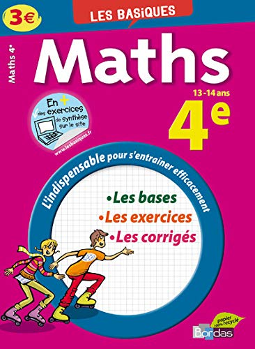 9782047310854: Maths 4e
