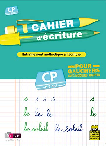 9782047311028: CAHIER ECRIT CP POUR GAUCHER