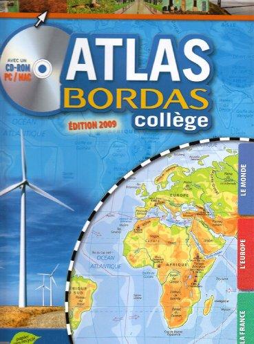 9782047311202: Atlas Bordas collège (1Cédérom)