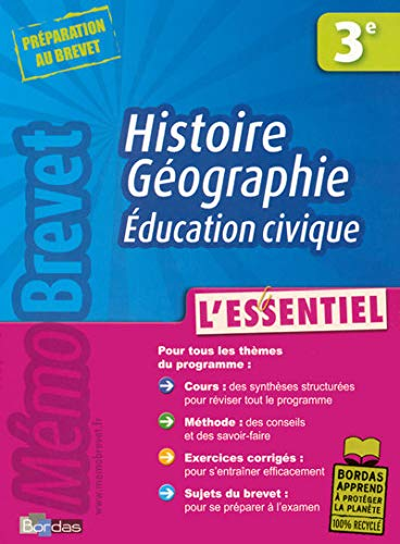 9782047312391: Histoire Geographie Education civique 3e (French Edition)