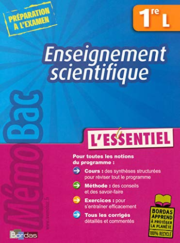 9782047312551: Enseignement scientifique 1e L (French Edition)