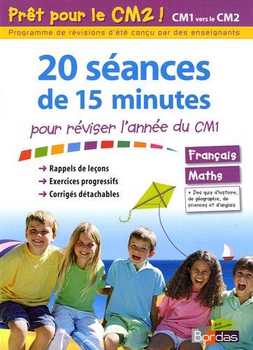 9782047316153: 20 séances de 15 minutes pour réviser l'année du CM1 (Prêt pour)