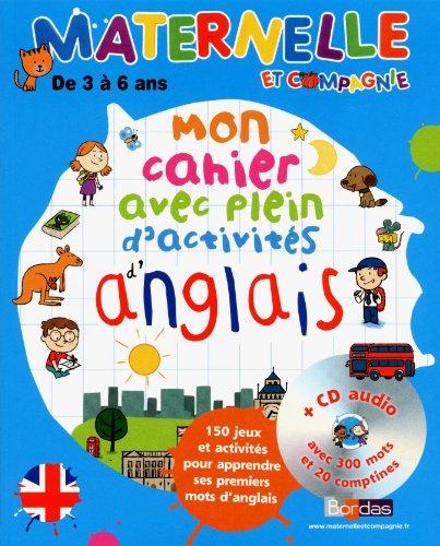 9782047316290: Mon cahier avec plein d'activités d'anglais (French Edition)