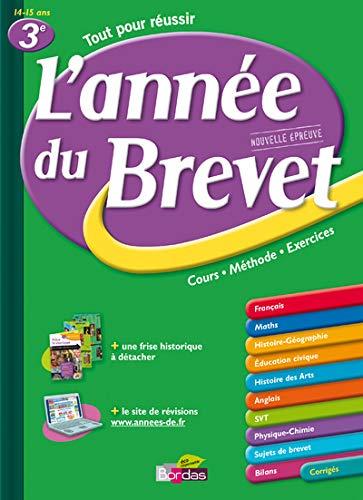 9782047318188: ANNEE DU BREVET 3E