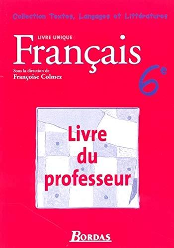 9782047320426: francais 6eme