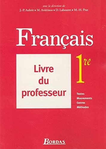 9782047320464: FRANCAIS 1RE LIVRE PROF 2005