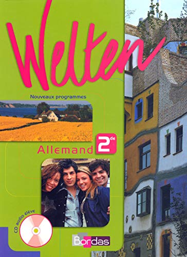 Allemand 2e LV1-LV2 Welten (1CD audio): Elisabeth Thomas; Anne