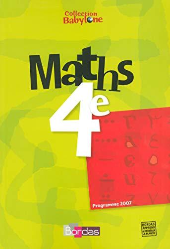 Maths 4e (French edition): Martine Lewillion-Lizambert