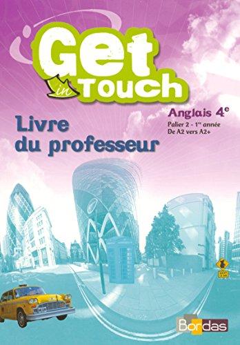 9782047323243: Get in touch 4e Livre du professeur