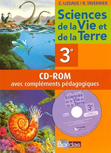 """""""sciences et vie de la terre ; 3ème ; cd-rom avec compléments pé..."""