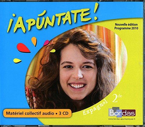 Coffret Apuntate 2de 3 CD Audio Classe 2010: Collectif