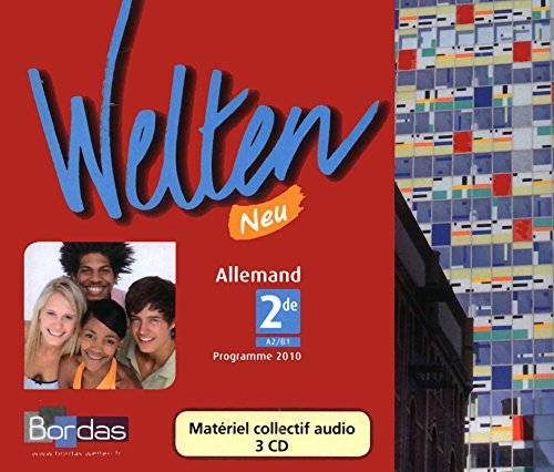 Welten Neu 2de 3cd Audio 2010 - Materiel Collectif pour la Classe: Collectif