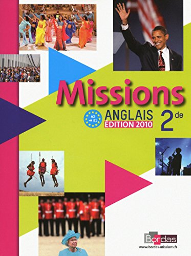 Missions Anglais 2e (French Edition)