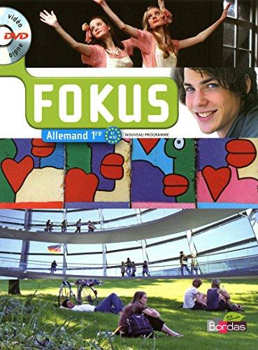 9782047328040: Fokus 1re · Manuel de l'élève avec DVD vidéo-audio (Éd. 2011)