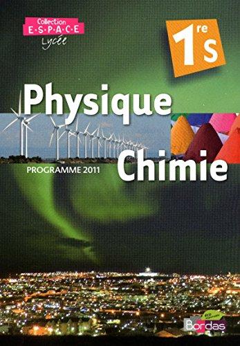 Phys-Chimie Espace 1re S Petit Format 2011: Mathieu Ruffenach