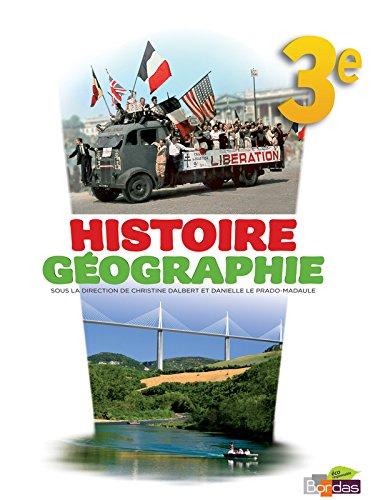 9782047329948: Histoire G�ographie 3e Manuel de l'�l�ve Grand format