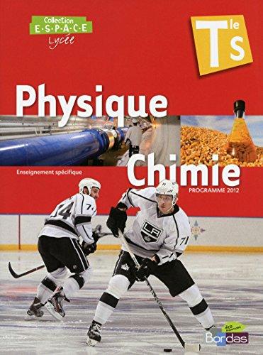 phys-chimie terminale s espace specifique -petit format-: Mathieu Ruffenach, Thierry Cariat, ...