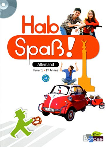 9782047330289: Allemand 1re année Hab Spass ! (1CD audio)