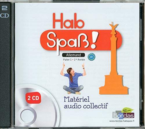 CD Audio-Classe Allemand Hab Spa ! Niveau 1