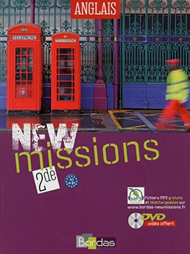 9782047331040: Anglais 2e A2-B1 New Missions (1DVD)