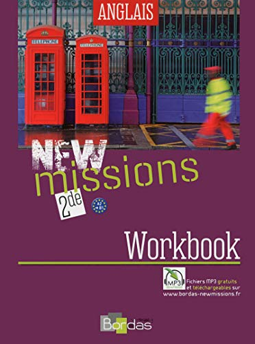 9782047331309: Anglais 2e New missions : Workbook